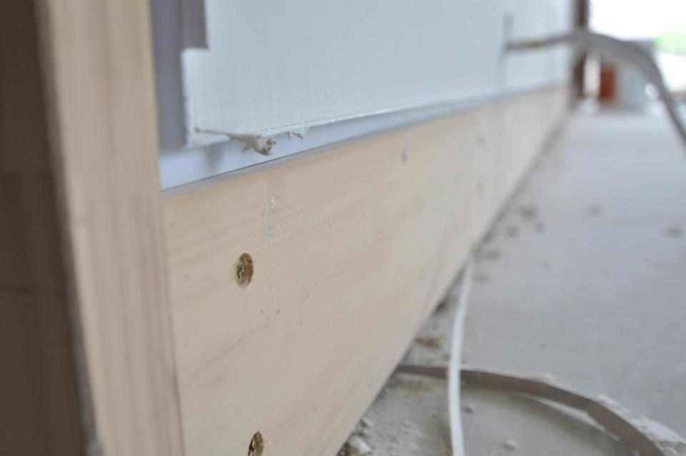Drywall Aluminum Trim : Shadow reveal baseboard page drywall finishing
