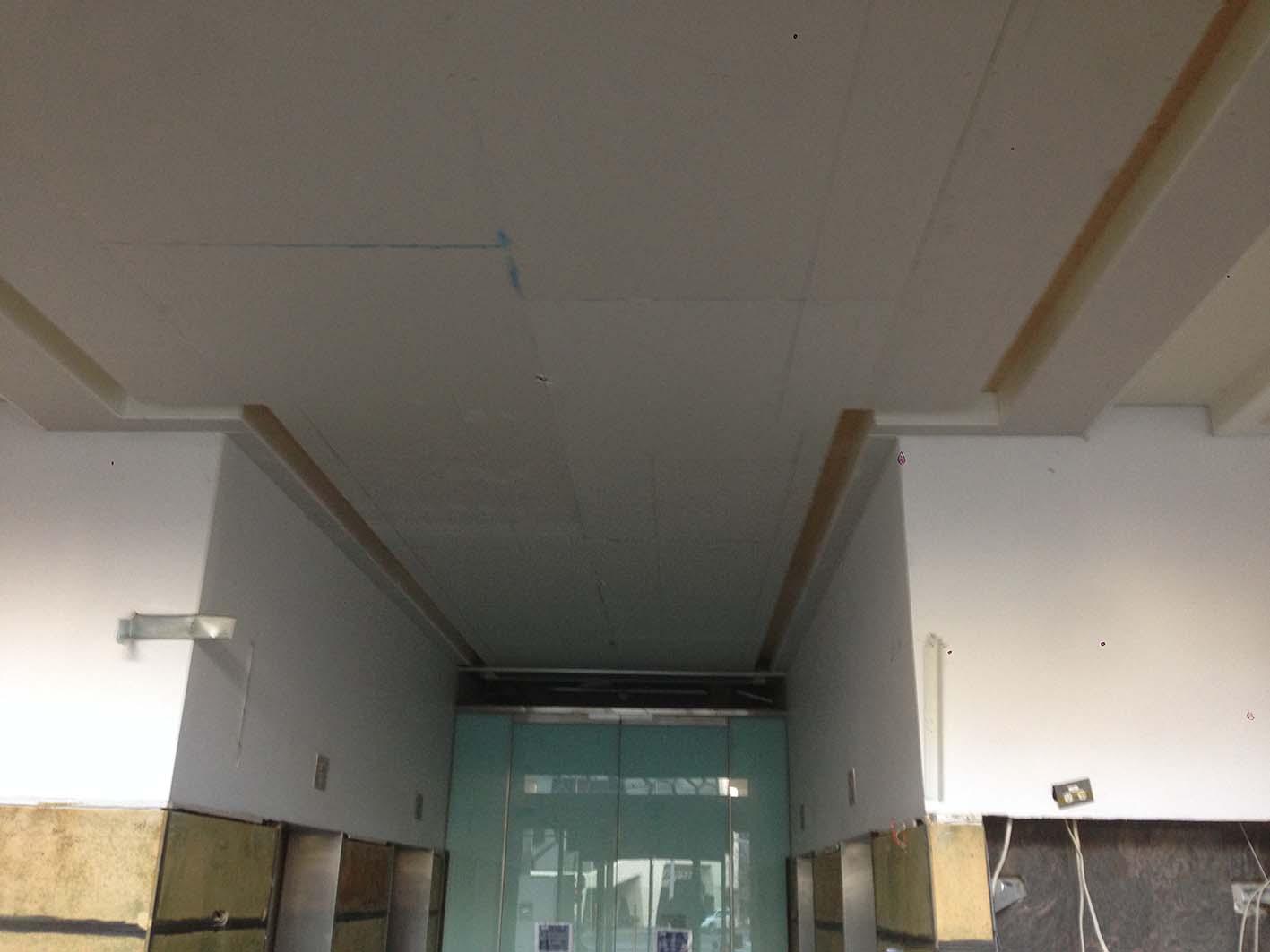 Foyer Ceiling Jobs : Current job foyer commercial drywall talk