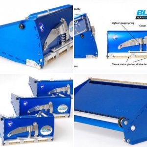 Tapepro Drywall Tools Flat Finishing Box FFB-200, FFB-250, FFB-300